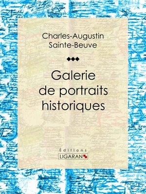 cover image of Galerie de portraits historiques