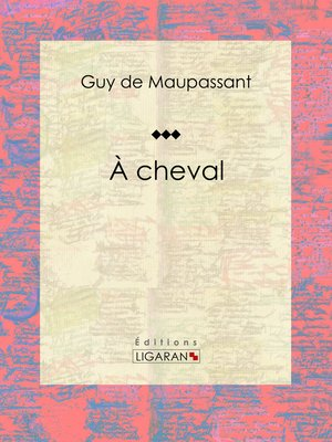 cover image of À cheval