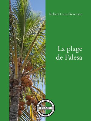 cover image of La plage de Falesa