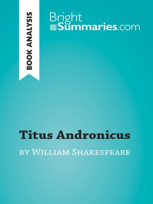 cover image of Titus Andronicus by William Shakespeare (Book Analysis)