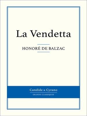 cover image of La Vendetta