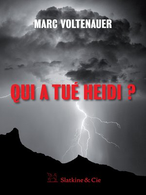 cover image of Qui a tué Heidi ?