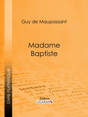 cover image of Madame Baptiste