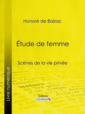 cover image of Etude de femme