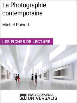 cover image of La Photographie contemporaine de Michel Poivert