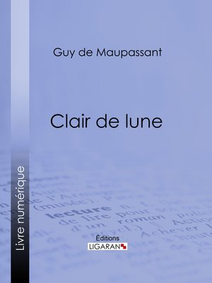 cover image of Clair de lune