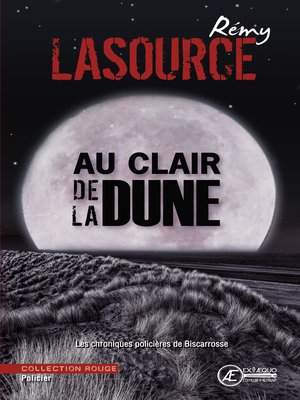 cover image of Au clair de la dune