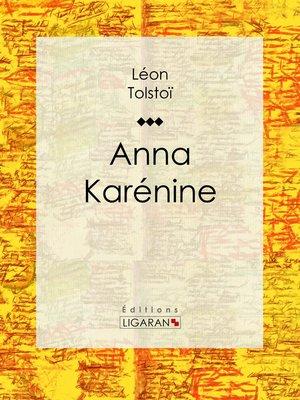 cover image of Anna Karénine