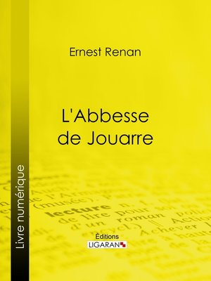 cover image of L'Abbesse de Jouarre