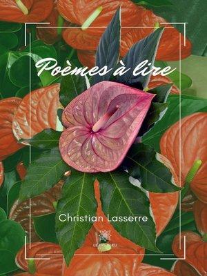 cover image of Poèmes à lire