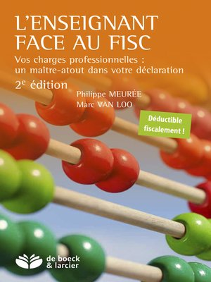 cover image of L'enseignant face au fisc