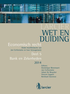 cover image of Wet en Duiding Bank en Zekerheden