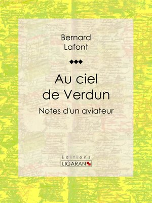cover image of Au ciel de Verdun
