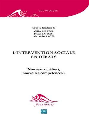 cover image of L'intervention sociale en débats