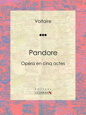 cover image of Pandore