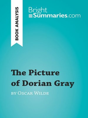 cover image of The Picture of Dorian Gray by Oscar Wilde (Book Analysis)
