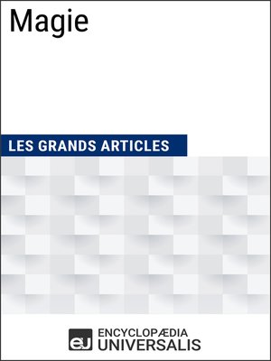 cover image of Magie