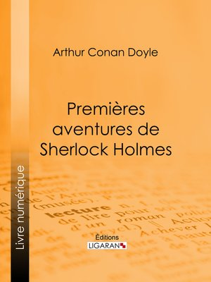 cover image of Premières aventures de Sherlock Holmes