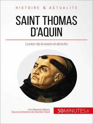 cover image of Saint Thomas d'Aquin