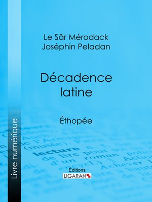 cover image of Décadence latine