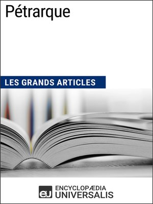 cover image of Pétrarque