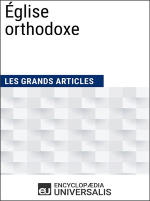 cover image of Église orthodoxe