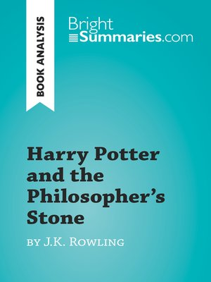 cover image of Harry Potter and the Philosopher's Stone by J.K. Rowling (Book Analysis)