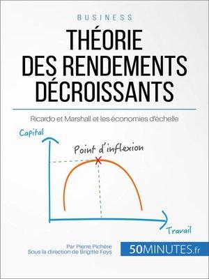 cover image of Théorie des rendements décroissants