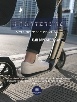 cover image of À trottinette