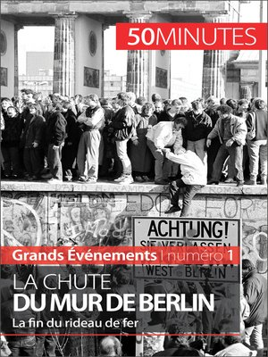 cover image of La chute du mur de Berlin