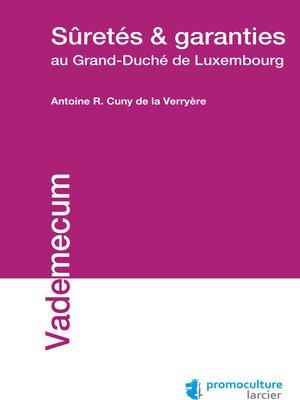cover image of Suretés et garanties au Grand-Duché de Luxembourg