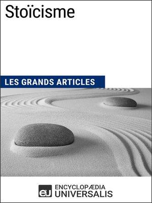 cover image of Stoïcisme