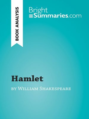 cover image of Hamlet by William Shakespeare (Book Analysis)