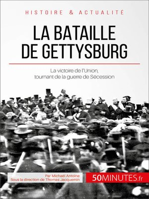 cover image of La bataille de Gettysburg