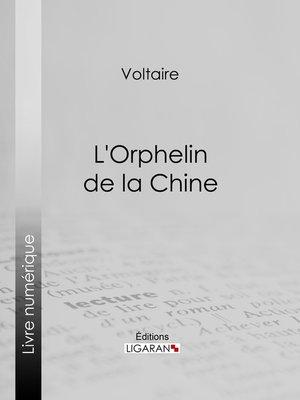 cover image of L'Orphelin de la Chine