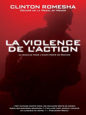 cover image of La violence de l'action