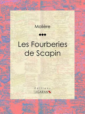 cover image of Les Fourberies de Scapin