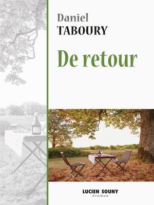 cover image of De retour