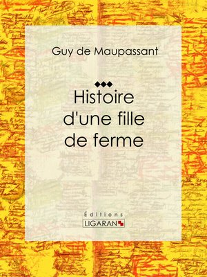 cover image of Histoire d'une fille de ferme
