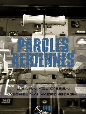 cover image of Un vrai vol d'essai