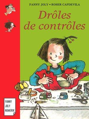 cover image of Drôles de contrôles