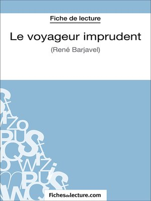 cover image of Le voyageur imprudent