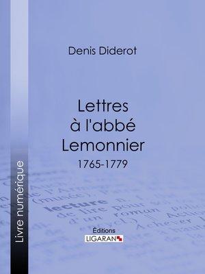 cover image of Lettres à l'abbé Lemonnier