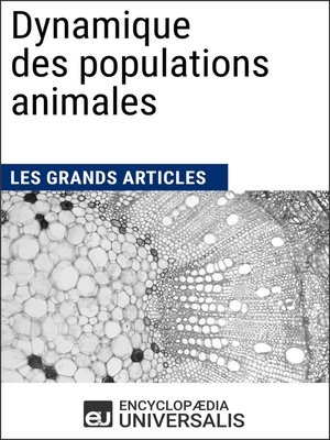 cover image of Dynamique des populations animales