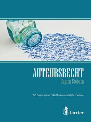 cover image of Auteursrecht – Capita selecta