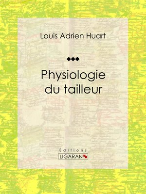 cover image of Physiologie du tailleur