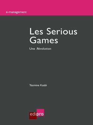 cover image of Les Serious Games