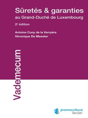 cover image of Sûretés et garanties au Grand-Duché de Luxembourg
