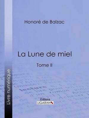 cover image of La Lune de miel