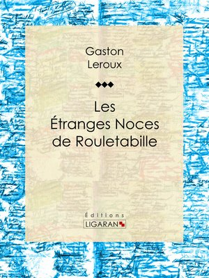 cover image of Les Etranges Noces de Rouletabille